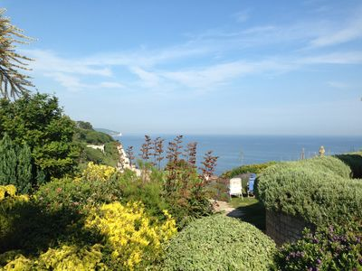 View from the patio to sea