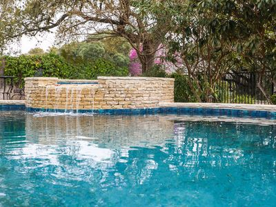 Photo for Absolutely Charming Simply Unforgettable, on site hot tub and swimming pool