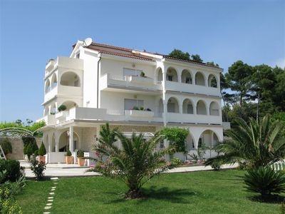 Photo for Holiday apartment with terrace, balcony and air conditioning