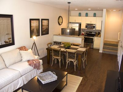 Photo for Modern Bargains - Lucaya Village - Welcome To Spacious 3 Beds 2 Baths Townhome - 3 Miles To Disney