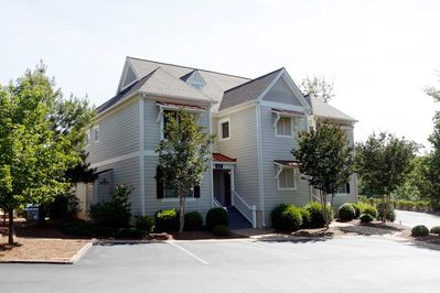The two bedroom Towne homes street view.