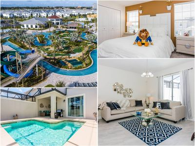 Photo for DISNEY DEAL! Free Waterpark! 4BR, Private Pool- Storey Lake (4912WA)
