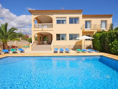 Photo for 8 bedroom Villa, sleeps 16 with Pool, FREE WiFi and Walk to Shops