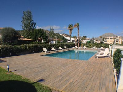 Photo for 3 bedroom Penthouse apartment in Pollensa with all amenities at walking distance