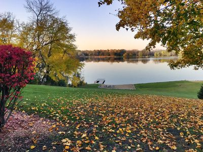 Photo for 4 Acres of private lakefront - Fox Chain Of Lakes - 1 hour from Chicago