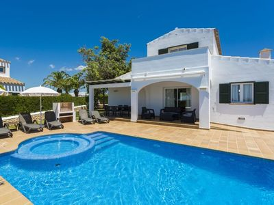 Photo for Vacation home Villas Finesse Villas 3 dorm in Menorca/Son Bou - 6 persons, 3 bedrooms