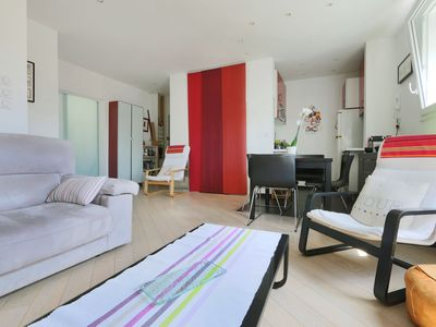 Photo for Quiet apartment in the Old Tours, 15' walking from train station #Halles