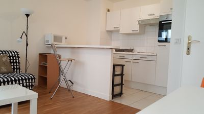 Photo for Furnished studio of 27 m2 - Furnished private apartment - Quartier La Défense