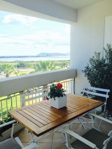 Photo for Apartment with stunning views of the Gulf of Cagliari
