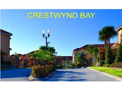 Photo for Home in gated community with public pool. 5-min drive to Disney.