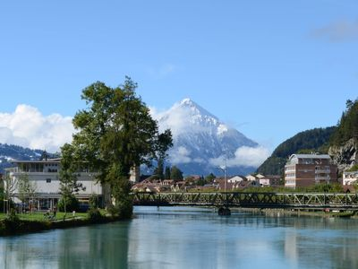Photo for Apartment 208, Aparthotel Goldey in Interlaken - 4 persons, 2 bedrooms