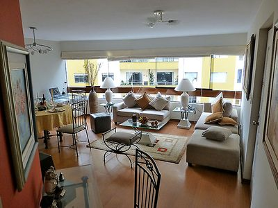 Photo for 3BR Apartment Vacation Rental in Miraflores, Lima