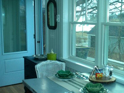 Photo for The Nugget- Perfect 1 bedroom cottage. Across from Mackerel Cove.