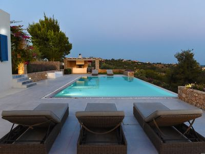 Photo for Unique location and stunning views. High standard with large pool