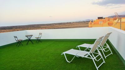 Photo for Apartment Aguamarina- terrace solariúm- WIFI- 400 meters from the sea