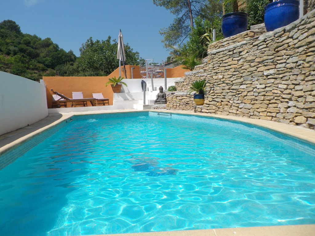 Elegant Holiday Rental Down Villa With Heated Pool In Quiet VAR
