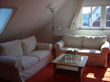 Completely furnished vacation apartment, quiet location, separate entrance