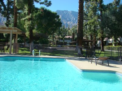Photo for Pool view upper level Palm Springs Villas- 1 bdrm Condo, minutes from downtown