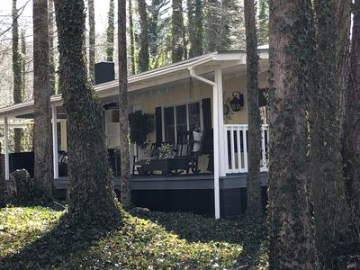 Photo for 1BR Cabin Vacation Rental in Candler, North Carolina