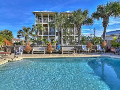 Photo for Decked Out, New Rental 4B/4Ba Private Pool. Sleeps 15!!