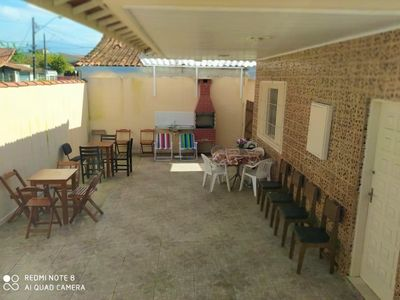 Photo for Corner house with large yard, near the beach in the center of Vila Tupi.