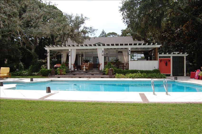 Marsh Front Cottage with Fabulous Pool & Outdoor Living ... on Pool And Outdoor Living id=23227