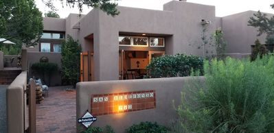 Photo for Quintessential Santa Fe Casita, Peaceful, Great Hospitality, Pool, Hiking, Relax