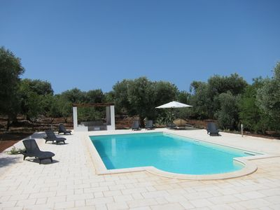 Photo for Beautifully renovated Trulli with stunning swimming pool (12M x 6M)