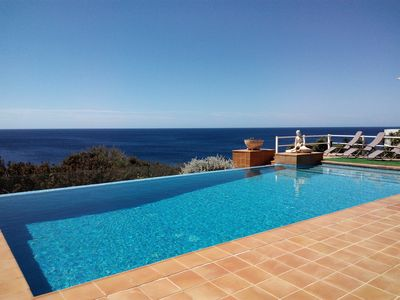 Photo for With panoramic views and pool - Casa Ana