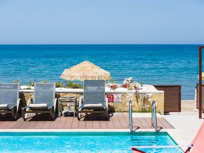 Photo for Espera Luxury Beach Front Residence, Private Pool & Walking to All Amenities!