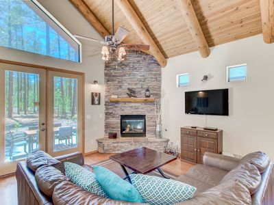 Photo for Tall Pines Cabin with Room for the Whole Family—And then Some!