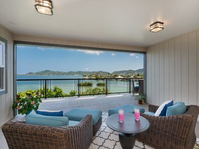 Photo for Imagine Yourself Enjoying Coffee or Cocktails Overlooking Panoramic Kaneohe Bay!