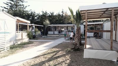 Photo for Camping Praia Mare - mobile home on the sea (Annex 4)