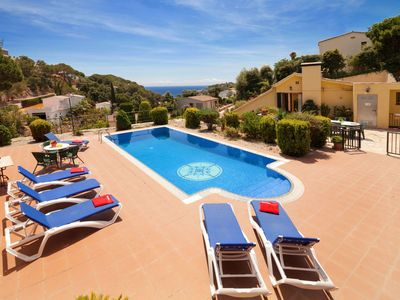 Photo for This 3-bedroom villa for up to 8 guests is located in Tossa De Mar and has a private swimming pool,
