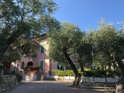 Photo for House in a luxurious villa in Diano Marina