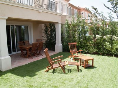 Photo for Attractive, semi-detached villa 4\/6 persons Provencal style holiday