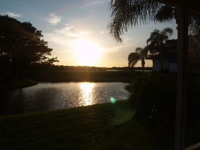 Photo for Private Island Condo in 24 hour gated guarded community 1 bridge from the beach