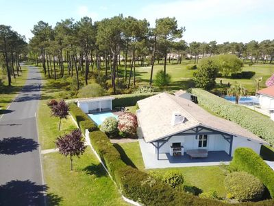 Photo for House on the golf course of Gujan-Mestras for 6 people with pool