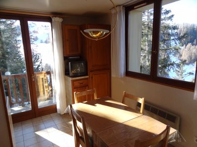 Photo for Apartment 2/3 people in Chalet Antonin in Plagne 1800