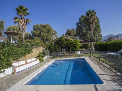 Photo for Magnificent country house in the hinterland of the Costa del Sol with two bedrooms and pool