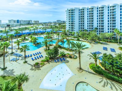Photo for ☀Palms Resort 1911 Jr 2BR☀Gulf Views! OPEN Apr 22 to 24 $623! LagoonPool&FunPass