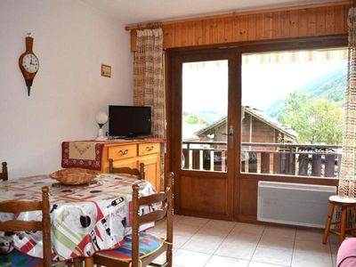 Photo for Apartment Le Grand-Bornand, studio flat, 4 persons