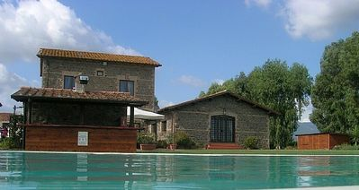 Photo for Casa Pausania D: A graceful apartment that is part of an ancient country house, with Free WI-FI.