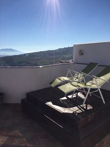 Photo for 2 bedroom terrace apartment with stunning views
