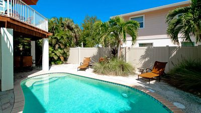 Photo for Fall Vacation Sale!!! Prices Reduced! BON AMI:Beautiful Family-Friendly Private Pool Home Just a Short Walk To Bean Point!