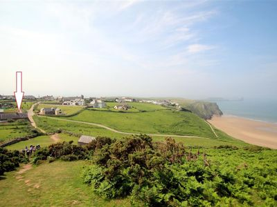 Photo for A stylish barn conversion in a fabulous location… overlooking the beach at Rhossili. This pet frie