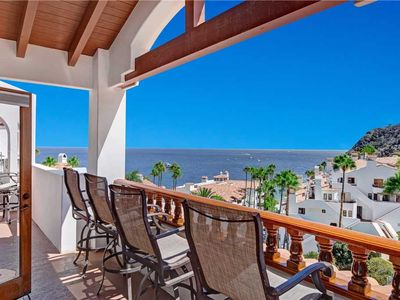 Photo for Spacious End Villa, Large Balcony, Wood Floors, New Mattresses, 6 Steps