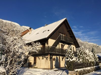 Photo for Beautiful 3 * APARTMENT - ANNECY LAKE and mountain, 6 people