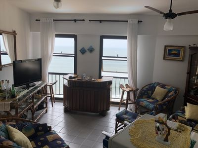 Photo for Apartment with pool facing the sea