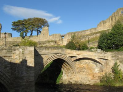 Photo for Stunning views of Barnard Castle from a townhouse beside the River Tees